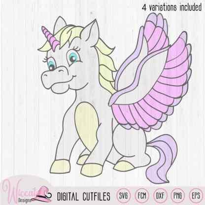 Unicorn with wings svg, Unicorn svg, girl svg, tshirt svg, fcm files,Horse design, dxf file, cricut unicorn, vinyl craft, plotter file