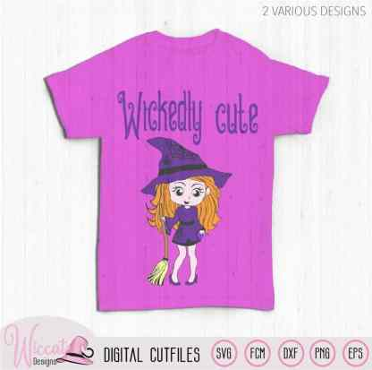 Little Witch Wickedly cute svg,