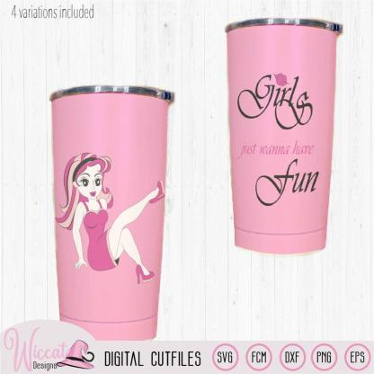Pink lady, Girls just wanna have fun quote