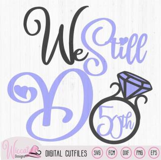 We still do for multiple Anniversary, Diamond ring