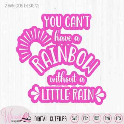 You can't have a rainbow quote svg