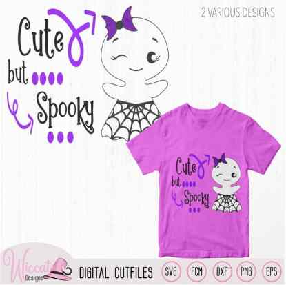 Cute but spooky, Cute ghost quote,
