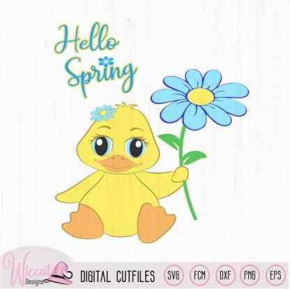 Baby eendje voor meisjes, lente dieren