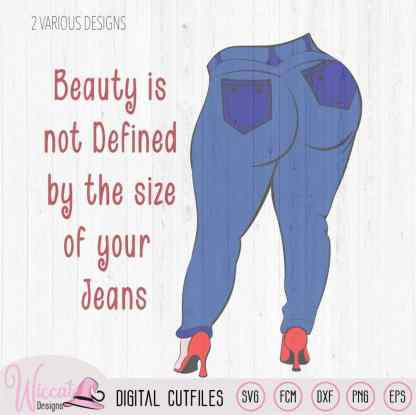 Beauty isn't defined quote, positive phrase,