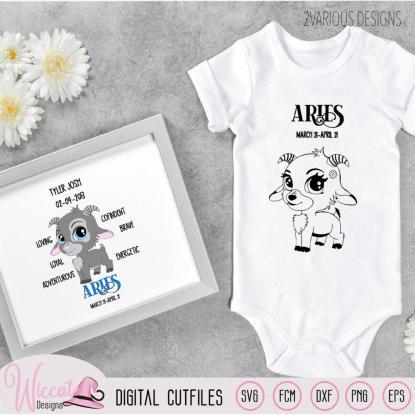 Baby ram sterrenbeeld voor jongens