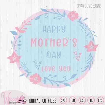 Flower mothers day design