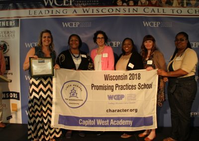 2018 Capitol West Academy Promising Practice Award Recipient