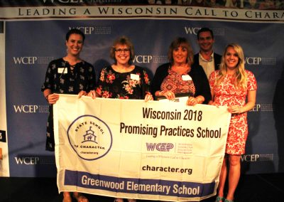 2018 Greenwood Elementary Promising Practice Award Recipient