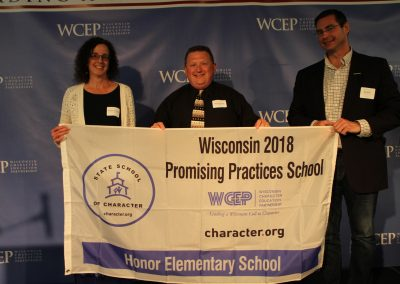 2018 HONOR ELEMENTARY PROMISING PRACTICE AWARD RECIPIENT