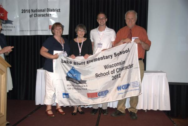 Lake Bluff Elementary School (also recognized as a National School of Character)