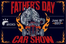 Fathers Day Car show at the Sedgwick County Zoo - Sunday, June 18, 2017: 8:30 a.m. – 4:00 p.m.