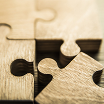 puzzle pieces representing counseling services
