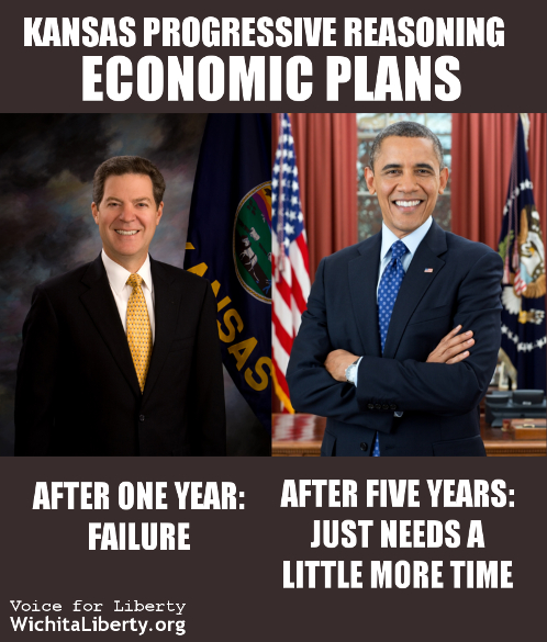 Kansas logic Sam and Barack