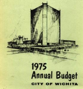 Wichita City Budget Cover, 1975