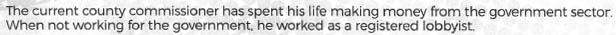 Wichita Chamber PAC mailing for David Dennis, excerpt