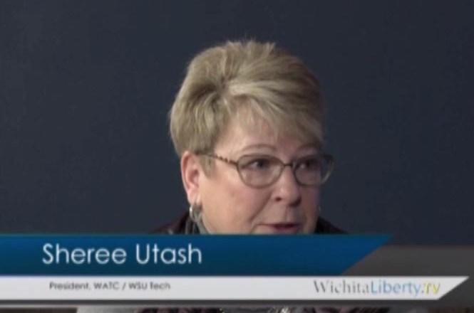 WichitaLiberty.TV: WATC and WSU Tech President Sheree Utash