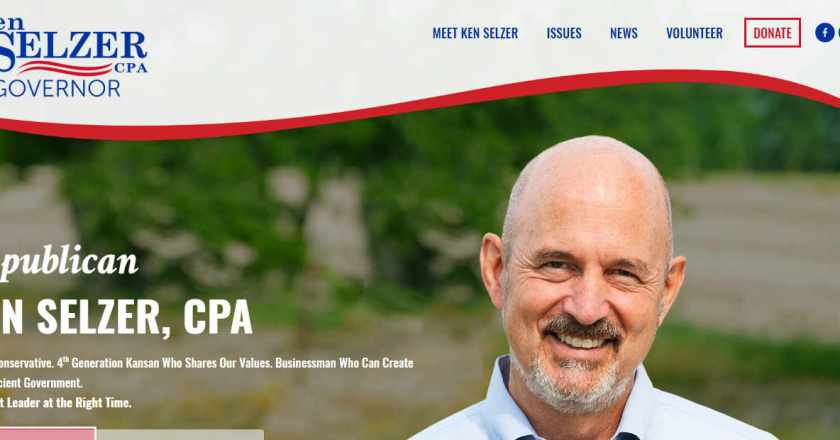 From Pachyderm: Ken Selzer, Candidate for Kansas Governor