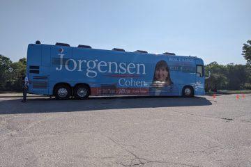 Libertarian campaign visits Wichita