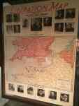 Liberation Map, on display at Strataca. Free admission for veterans on 70th anniversary of D-Day