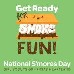 KS Girl Scouts National S'mores Day Celebration