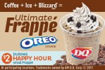 Dairy Queen Ultimate Oreo Frappe