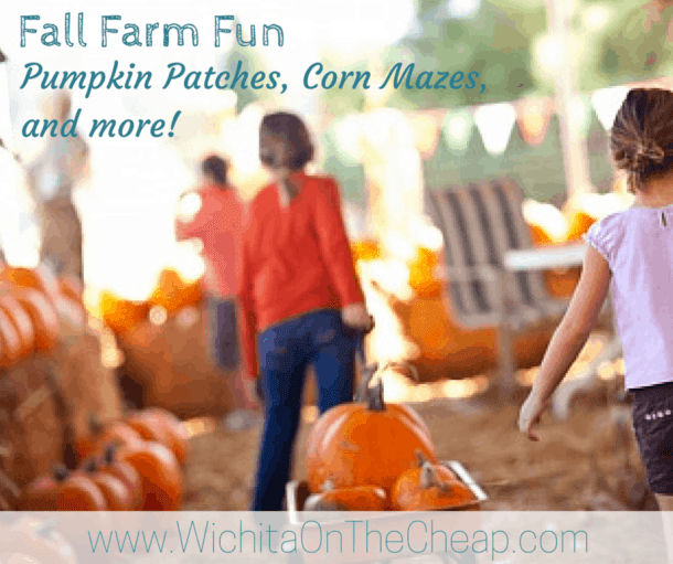 Pumpkin patches, corn mazes, and more farm fun in the Wichita area