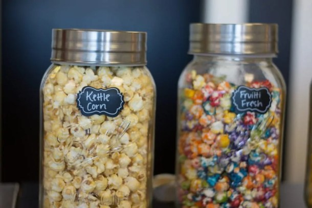 two flavors available at The Popcorner in Wichita and Andover