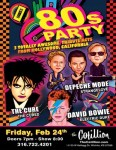 80s Party totally awesome tribute acts from hollywood, california