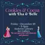 Princess event at Andover Public Library