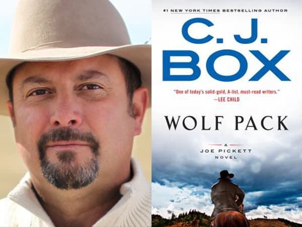 CJ Box author talk and book signing