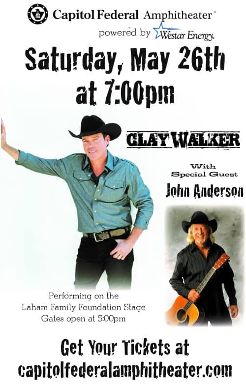 CapFed Amphitheater summer concert series kicks off with Clay Walker and John Anderson