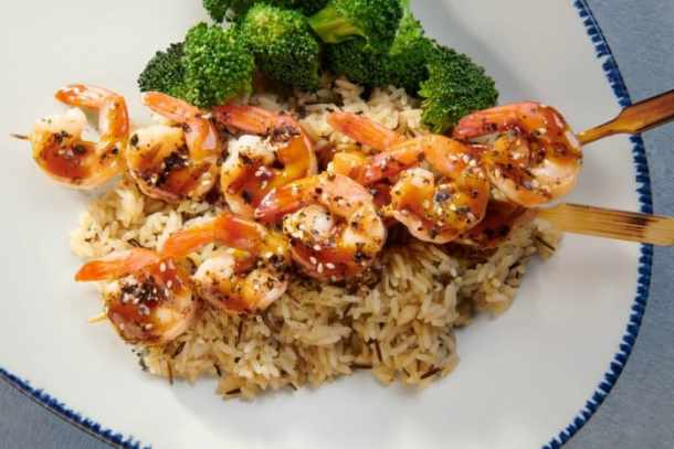 Sesame Ginger Grilled Endless Shrimp at Red Lobster