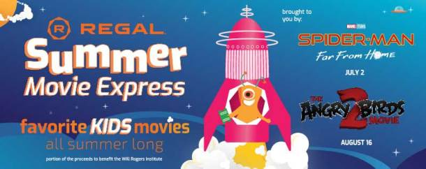 $1 kids movies at Regal Cinemas this summer