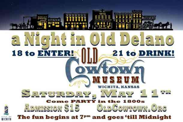 A Night in Old Delano flyer