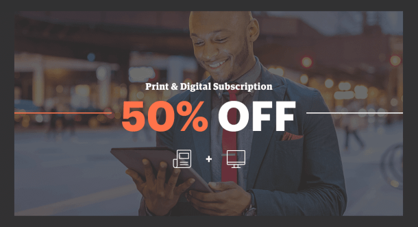 Wichita Business Journal subscription discount for Black Friday