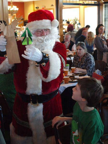 Breakfast with Santa at Old Cowtown Museum in Wichita