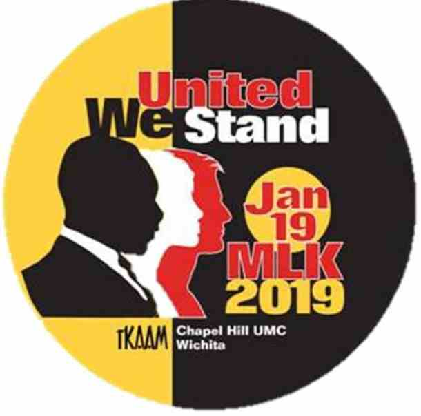 MLK Day $5 button