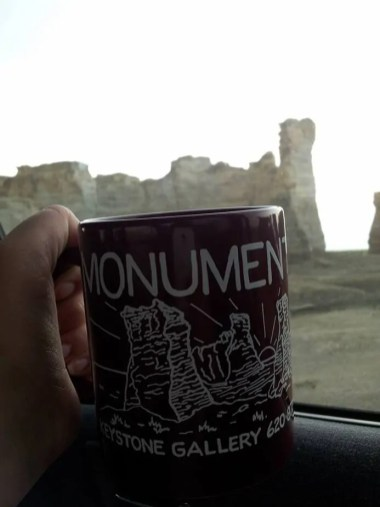 Monument Rocks souvenir mug