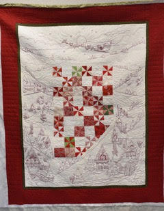 Quilts being raffled off for charity