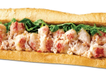 Quiznos free sub - Lobster and Seafood sub