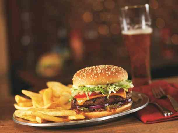 Red Robin Cheeseburger