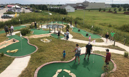 18-Hole Round of Mini-Golf for One, Two, or Four at Field Station: Dinosaurs - Kansas (Up to 46% Off)