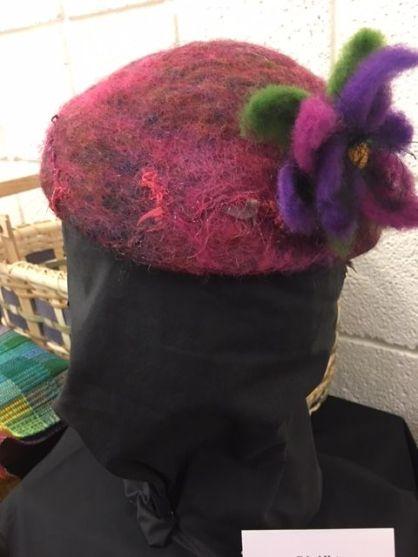 Janet Hamous' felt hat