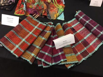 Nancy Squire's weaving