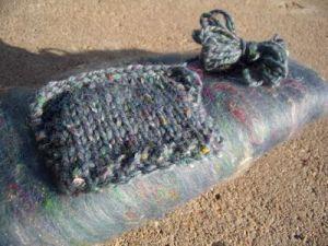 Tweed yarn and batt