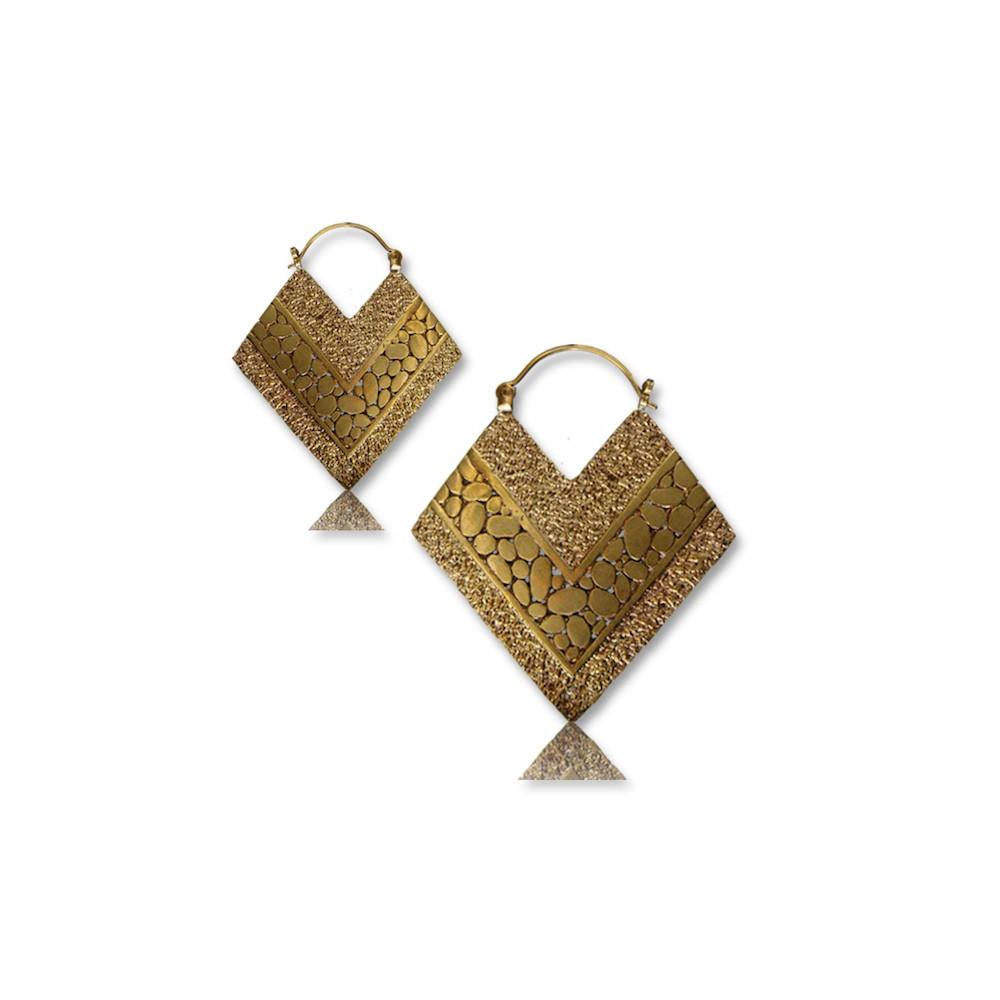 dangle plug earrings