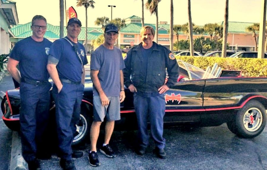 Doug Flutie Wins WWE Title After Spotted Driving Around Tampa Bay In His Batmobile During Super Bowl Weekend *
