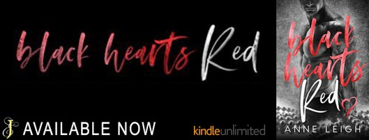 Black Hearts Red Banner