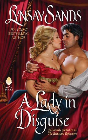 Book Cover - A Lady in Disguise by Lynsay Sands