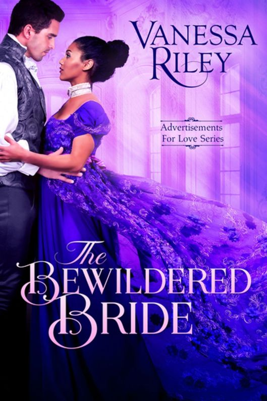 Book Cover - The Bewildered Bride by Vanessa Riley